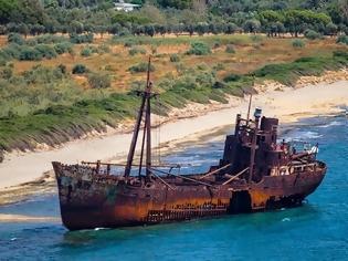 Φωτογραφία για Το πλοίο φάντασμα της Λακωνίας που μαγεύει τους επισκέπτες! Όλη η άγνωστη ιστορία του