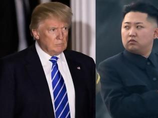 Φωτογραφία για Παγκόσμιος τρόμος: Ο Ντόναλντ Τραμπ απειλεί ευθέως με πόλεμο τη Βόρεια Κορέα