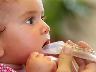 Φωτογραφία για Πώς να δώσετε αντιβίωση σε μωρό έως ενός έτους