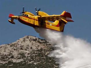 Φωτογραφία για Επισκευή κινητήρων 12 Canadair. Εντός Απριλίου η μονιμοποίηση πυροσβεστών πενταετούς θητείας