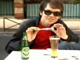 Φωτογραφία για Απίστευτο ατύχημα με mentos μέσα σε μπύρα [Video]