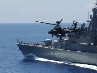 Φωτογραφία για Κρίσιμες ώρες: Φορτώνονται με πυραύλους και πλέουν προς το νοτιοανατολικό Αιγαίο πλοία του ΠΝ – Σε πολεμική ετοιμότητα και Μοίρες μαχητικών
