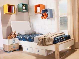 Φωτογραφία για Πώς να χωρέσεις τα πάντα μέσα σε ένα μικρό παιδικό δωμάτιο!