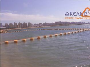 Φωτογραφία για Κορινθιακός: Λύση αλά Ντουμπάι με πλωτά φράγματα ενάντια στις τσούχτρες