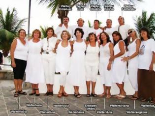 Φωτογραφία για Μητέρα ονόμασε και τα 15 παιδιά της «Walter»!