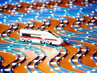 Φωτογραφία για O μεγαλύτερος σιδηρόδρομος από LEGO στον κόσμο!