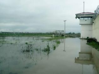Φωτογραφία για Πλημμύρισαν οι φυλακές Τρικάλων (φωτο-video)