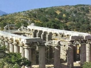 Φωτογραφία για Μοναδικό φαινόμενο στην Ελλάδα - Ο Ναός του Επικούριου Απόλλωνα που... περιστρέφεται [video]