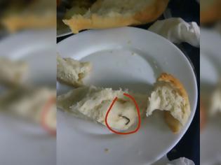 Φωτογραφία για Φοιτητής καταγγέλλει ότι βρήκε... σύρμα στο ψωμί στην Εστία του Πανεπιστημίου Πατρών [photo]