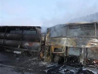 Φωτογραφία για Τουλάχιστον 13 νεκροί από τροχαίο-σοκ μεταξύ λεωφορείου και φορτηγού στην Τουρκία