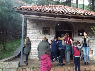 Φωτογραφία για Εκδρομή δημοτικού Σχολείου ΑΡΧΟΝΤΟΧΩΡΙΟΥ στο Θέρμο (ΦΩΤΟ)