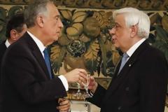Μήνυμα Παυλόπουλου προς Αγκυρα και Σκόπια -Το επίσημο δείπνο προς τιμήν του Πορτογάλου προέδρου