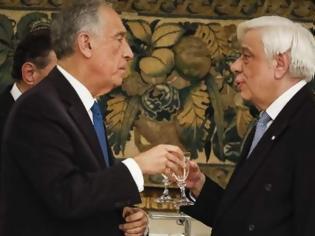 Φωτογραφία για Μήνυμα Παυλόπουλου προς Αγκυρα και Σκόπια -Το επίσημο δείπνο προς τιμήν του Πορτογάλου προέδρου