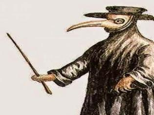 Φωτογραφία για Τι χρησίμευε η μάσκα του πουλιού που χρησιμοποιούσαν οι γιατροί τον καιρό της Πανώλης