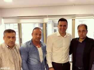 Φωτογραφία για Συναντηση ΠΟΣΥΦΥ με τον Τομεάρχη για θέματα Εθνικής Αμυνας της ΝΔ