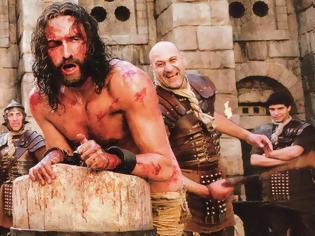Φωτογραφία για «Τα Πάθη Του Χριστού». Η ταινία του Γκίμπσον όπου κατά λάθος μαστίγωσαν αληθινά τον πρωταγωνιστή, το συνεργείο είχε πολλούς τραυματισμούς και το σενάριο στρεβλώσεις