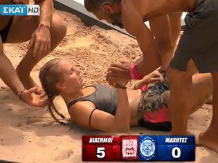 Φωτογραφία για Survivor 2: Δαλάκα και Σαλταφερίδου κατατρόπωσαν τις αντιπάλους τους με σκορ 5-0!