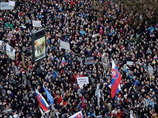Φωτογραφία για Σλοβακία: Νέα διαδήλωση με αίτημα την παραίτηση του αρχηγού της αστυνομίας