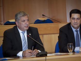 Φωτογραφία για Ο Δήμαρχος Αγρινίου Γ. Παπαναστασίου συμμετείχε στη Συνέντευξη Τύπου του Προέδρου της ΚΕΔΕ Γ. Πατούλη και του Προέδρου της ΕΝΠΕ Κ. Αγοραστού στην Αθήνα, με αφορμή την αλλαγή του Καλλικράτη (ΦΩΤΟ)