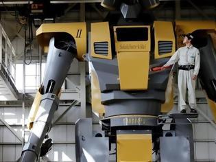 Φωτογραφία για Δέος προκαλεί νέο ιαπωνικό ρομπότ ύψους 8,5 μέτρων [video]