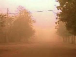 Φωτογραφία για Πάτρα: Επιμένει η Αφρικανική σκόνη - Εξαφάνισε τον ήλιο - Πότε αλλάζει η κατάσταση