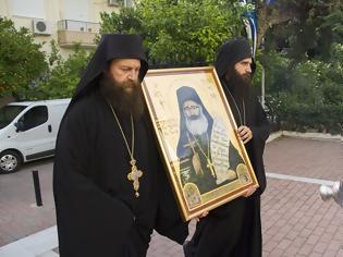 Φωτογραφία για Τα θαυματουργά ιερά λείψανα του Αγίου Φιλουμένου στην Μητρόπολη Καισαιριανής