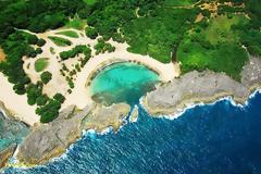 Μια απομονωμένη παραλία χάρμα οφθαλμών!