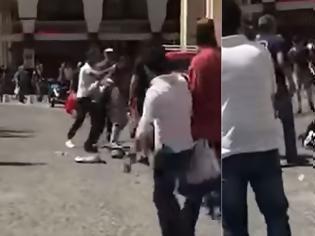 Φωτογραφία για Θεσσαλονίκη: Περαστικός έσπασε στο ξύλο Πακιστανό που πήγε να κλέψει νεαρό Έλληνα εργαζόμενο