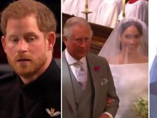 Φωτογραφία για Απίθανη στιγμή στον Πριγκιπικό γάμο: Τα έχασε ο Χάρι όταν όταν την αντίκρισε - Έσπασε το Πρωτόκολλο με αυτό που της είπε [photo+video]