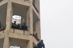 Εκπαίδευση της Σχολής Ανθυποπυραγών της Πυροσβεστικής Ακαδημίας (φωτογραφίες)