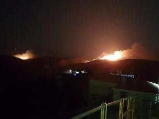 Φωτογραφία για Εύβοια: Διπλή φωτιά κοντά σε χωριά του Δήμου Κύμης - Αλιβερίου! Στο «πόδι» οι κάτοικοι! (ΒΙΝΤΕΟ)