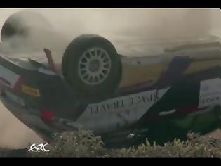Φωτογραφία για Τρομερό ατύχημα στο Ράλι Ακρόπολις (ΒΙΝΤΕΟ)