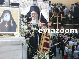 Φωτογραφία για Μονή Οσίου Δαυΐδ: Με χιλιάδες πιστούς, Βαρθολομαίο και χωρίς τον Αρχιεπίσκοπο πραγματοποιήθηκε η Αγιοκατάταξη του Οσίου Ιακώβου Τσαλίκη (ΦΩΤΟ & ΒΙΝΤΕΟ)