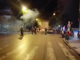 Φωτογραφία για Ανεμένουμε τη σύλληψη των δραστών της επίθεσης με μολότοφ στις διμοιρίες