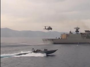 Φωτογραφία για Αιγαίο: Σήμερα χτυπάει η Καταιγίς 2018 του Πολεμικού Ναυτικού - ΒΙΝΤΕΟ