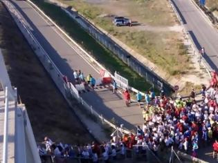 Φωτογραφία για Γέφυρα: Κύμα συμπαράστασης για την Λίλη Τοξαβίδη – Εκατοντάδες έστειλαν μήνυμα δύναμης και αισιοδοξίας (ΦΩΤΟ)
