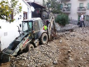 Φωτογραφία για Το Μηχανικό (ΜΧ) του Δ' ΣΣ ολοκλήρωσε σήμερα την αποκατάσταση ζημιών στη ν. Σαμοθράκη (13 ΦΩΤΟ)