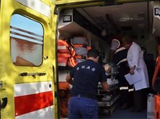 Φωτογραφία για Ηράκλειο: Σε κρίσιμη κατάσταση νεαρός, μετά από τροχαίο