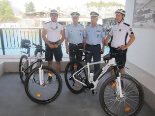Φωτογραφία για Αστυνομικοί με ποδήλατα και στη Χαλκίδα (φωτογραφίες)