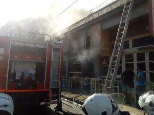 Φωτογραφία για Φωτιά σε κεντρικό ψητοπωλείο της πόλης των Χανίων