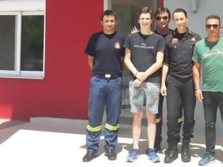 Φωτογραφία για Ο 18χρονος Ολλανδός ευχαρίστησε κατοίκους και Αρχές που βοήθησαν στην διάσωσή του απο την Βαράσοβα