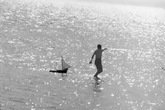 Ανέμελο Ελληνικό καλοκαίρι στην Πάρο του 1971.