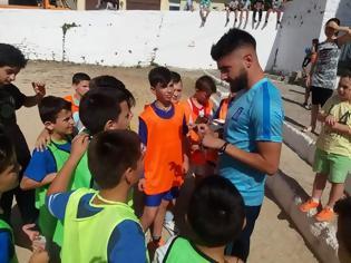 Φωτογραφία για Με επιτυχία ο Ποδοσφαιρικός αγώνας μεταξύ Ε' και ΣΤ' τάξης του Δημοτικού Σχολείου Κατούνας - Κοντά στους μαθητές ο Δημήτρης Χαντάκιας του Παναιτωλικού! (ΦΩΤΟ)