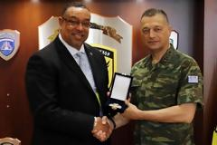 Συνάντηση Αρχηγού ΓΕΣ με τον Director US Army Aviation and Missile Life Cycle Command (AMCOM) Security Assistance Management Directorate