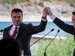 Φωτογραφία για Υπεγράφη η συμφωνία στις Πρέσπες