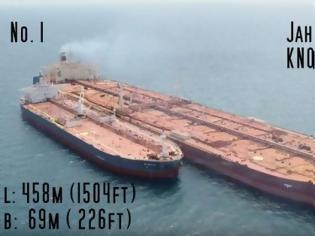 Φωτογραφία για Το μεγαλύτερο πλοίο στο κόσμο το είχε παραγγείλει Έλληνας! [video]