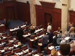 Φωτογραφία για Πέρασε με 69 «ναι» από την Βουλή των Σκοπίων  η συμφωνία με την Ελλάδα