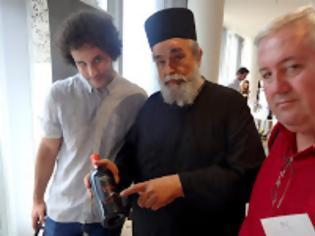 Φωτογραφία για 10791 - Ο αρχιμάγειρας του Αγίου Ορους προωθεί τα ελληνικά κρασιά στα Τίρανα