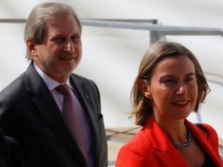 Φωτογραφία για Για αλλαγή συνόρων μετά την συμφωνία Ελλάδας Αλβανίας αποκάλυψε ο Επίτροπος Χαν!
