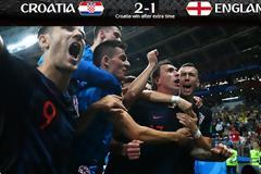Κροατία - Αγγλία 2-1. Η Κροατία στον τελικό του Παγκοσμίου Κυπέλου